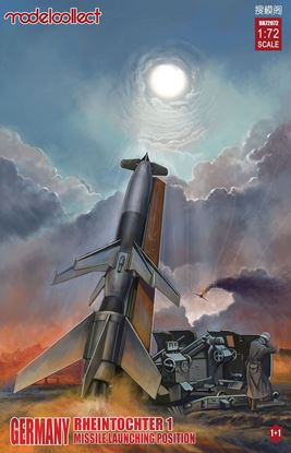 Picture of Germany Rheintochter 1  Missile launching position