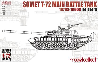 Picture of Soviet T-72 Main battle tank, 1970s-1990s N in 1